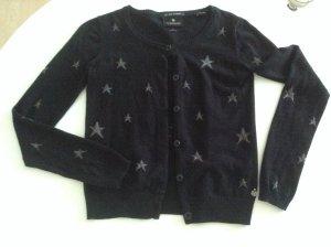 Maison Scotch Cardigan mit Sternen