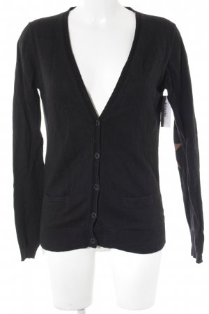 Maison Scotch Cardigan schwarz Casual-Look