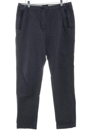 Maison Scotch Pantalone cargo grigio-nero motivo a quadri stile professionale