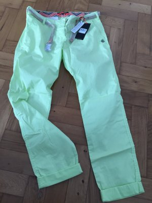 Maison Scotch Chino-Pant in Gr. 29/32 in super Zitronen/Limonen-Gelb