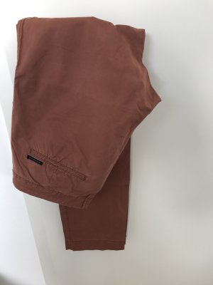 Maison Scotch Chino rostfarben
