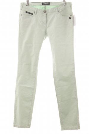Maison Scotch Chinos pale green casual look