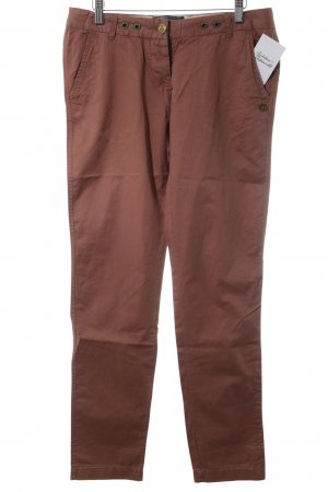 Maison Scotch Chinohose braunrot Casual-Look