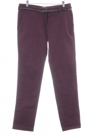 Maison Scotch Chinohose brombeerrot Casual-Look