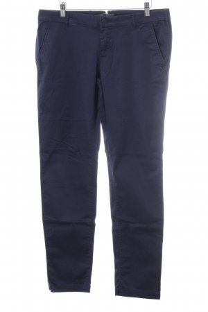 Maison Scotch Chinohose dunkelblau Casual-Look