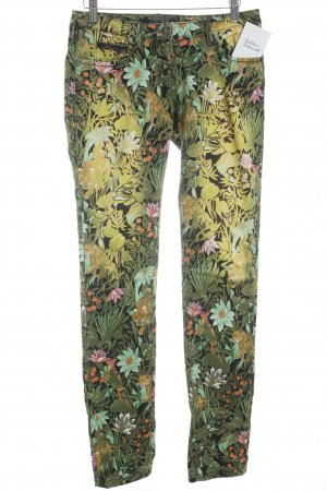 Maison Scotch Chino bloemen patroon casual uitstraling
