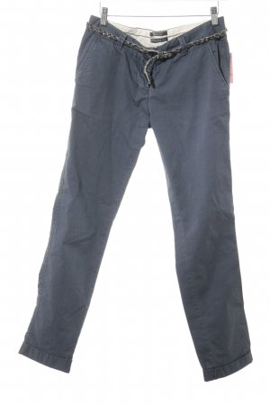 Maison Scotch Chino gris pizarra look casual