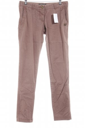 Maison Scotch Chino roodbruin casual uitstraling