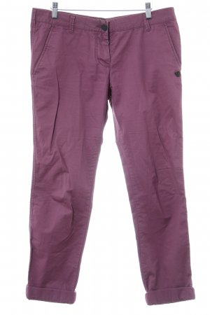 Maison Scotch Chinohose violett Casual-Look