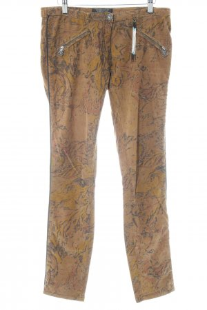 Maison Scotch Cordhose abstraktes Muster Casual-Look