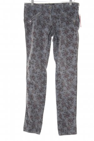 Maison Scotch Cordhose florales Muster Casual-Look