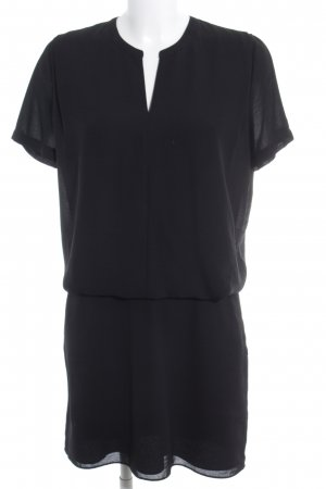 Maison Scotch Abito cut out nero stile minimalista