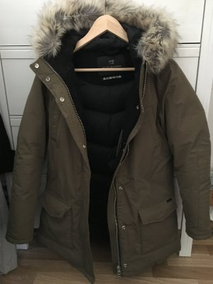 Maison Scotch Damen Daunenparka Jacke Fell Military