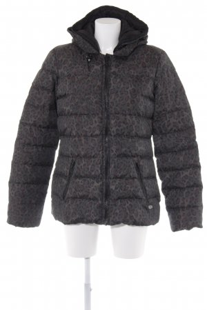 Maison Scotch Daunenjacke Animalmuster Street-Fashion-Look