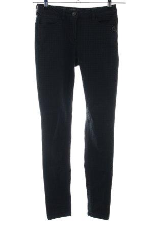 Maison Scotch Five-Pocket Trousers black weave pattern business style