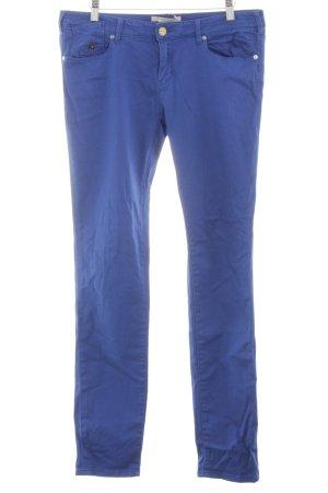 Maison Scotch Pantalone cinque tasche blu stile casual