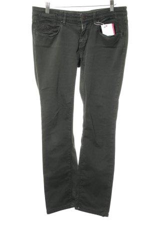 Maison Scotch Pantalon cinq poches vert foncé style décontracté
