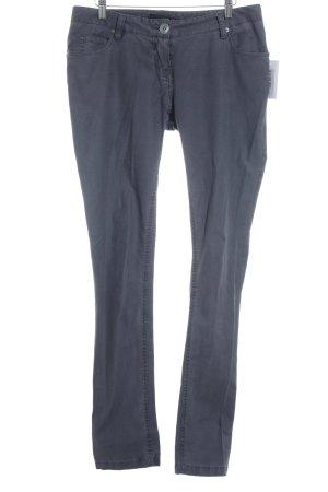 Maison Scotch Five-Pocket-Hose graublau klassischer Stil