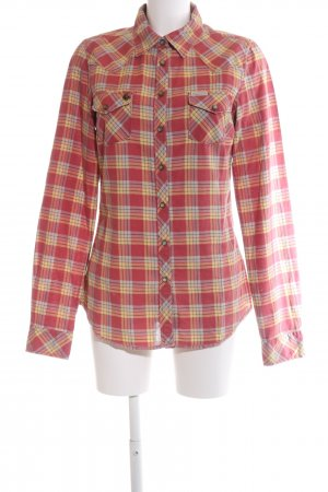 Maison Scotch Flannel Shirt red-primrose check pattern casual look