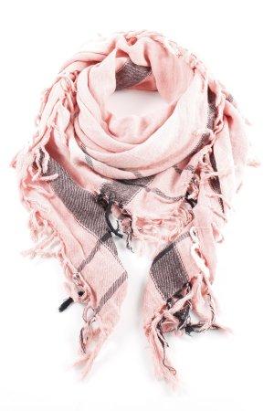 Maison Scotch Sjaal met franjes Webpatroon casual uitstraling