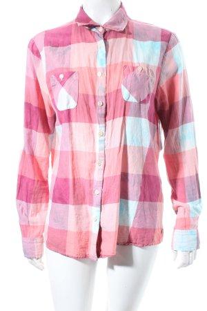 Maison Scotch Hemd-Bluse Batikmuster Urban-Look