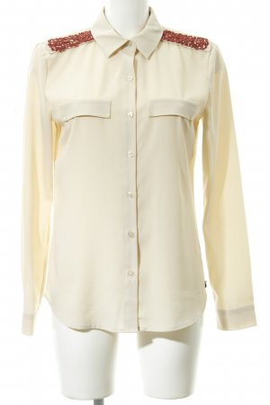 Maison Scotch Hemd-Bluse camel Business-Look