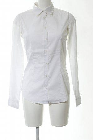 Maison Scotch Hemd-Bluse weiß Business-Look