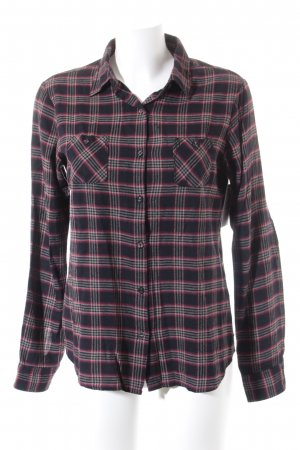 Maison Scotch Hemd-Bluse Glencheckmuster Business-Look