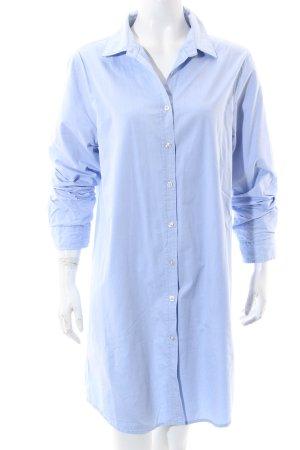 Maison Scotch Hemd-Bluse hellblau Business-Look