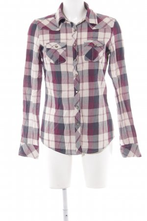 Maison Scotch Hemd-Bluse Karomuster Casual-Look