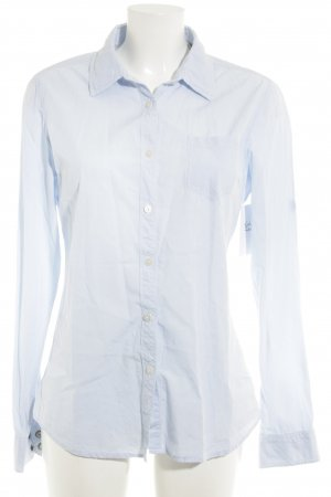 Maison Scotch Hemd-Bluse weiß-himmelblau Karomuster Elegant
