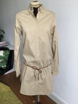 Maison Scotch Hemdblusenkleid Beige, Gr.2 (38/40)