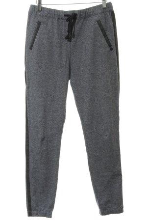 Maison Scotch Pantalon taille haute gris-noir style mode des rues