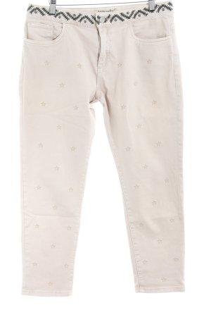 Maison Scotch Hoge taille jeans Sterrenpatroon extravagante stijl