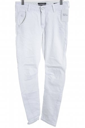 Maison Scotch Hoge taille jeans wit casual uitstraling