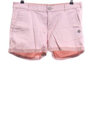 Maison Scotch High-Waist-Shorts pink casual look