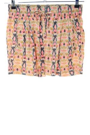 Maison Scotch High-Waist-Shorts Allover-Druck Casual-Look