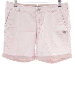 Maison Scotch High-Waist-Shorts hellrosa Casual-Look