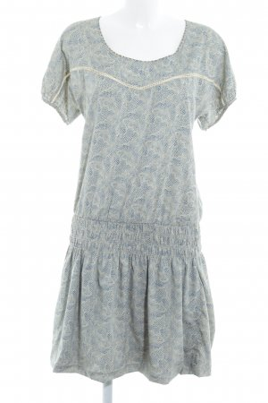 Maison Scotch Hippiekleid abstraktes Muster Hippie-Look