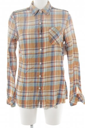 Maison Scotch Lumberjack Shirt check pattern boyfriend style
