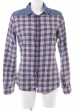 Maison Scotch Camisa de leñador estampado a cuadros estilo country