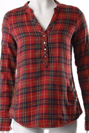 Maison Scotch Holzfällerhemd Rot