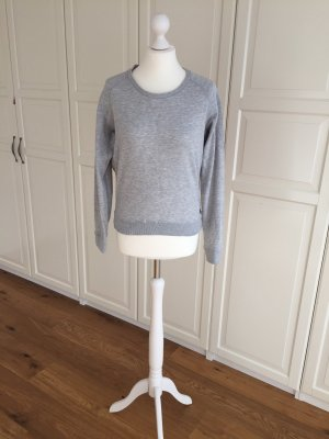 Maison Scotch Hoodie Sweater grau 1 36