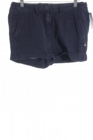 Maison Scotch Hot Pants dunkelblau-schwarz Streifenmuster Casual-Look
