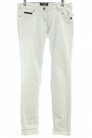 Maison Scotch Low-Rise Trousers lime-green elegant