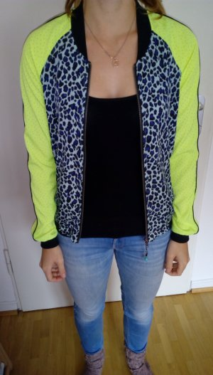 Maison Scotch Bomber Jacket multicolored polyester