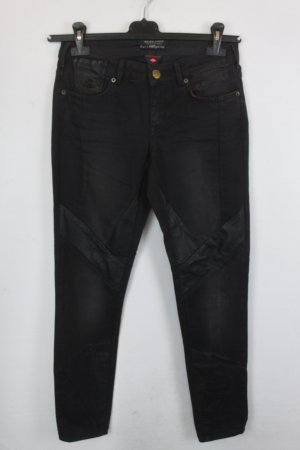 Maison Scotch Jeans da motociclista nero-antracite Cotone