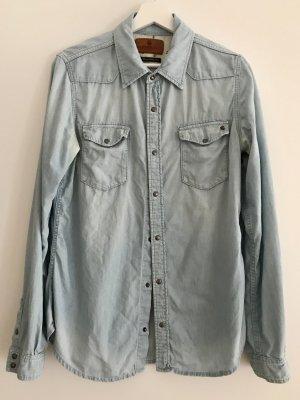 Maison&Scotch Jeans Hemd, Größe 4 (40-42)