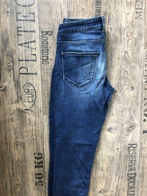 Maison Scotch Jeans a carota blu scuro
