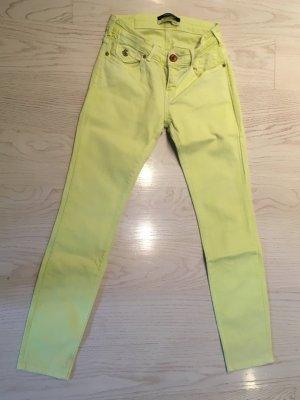 Maison Scotch Wortel jeans neongeel